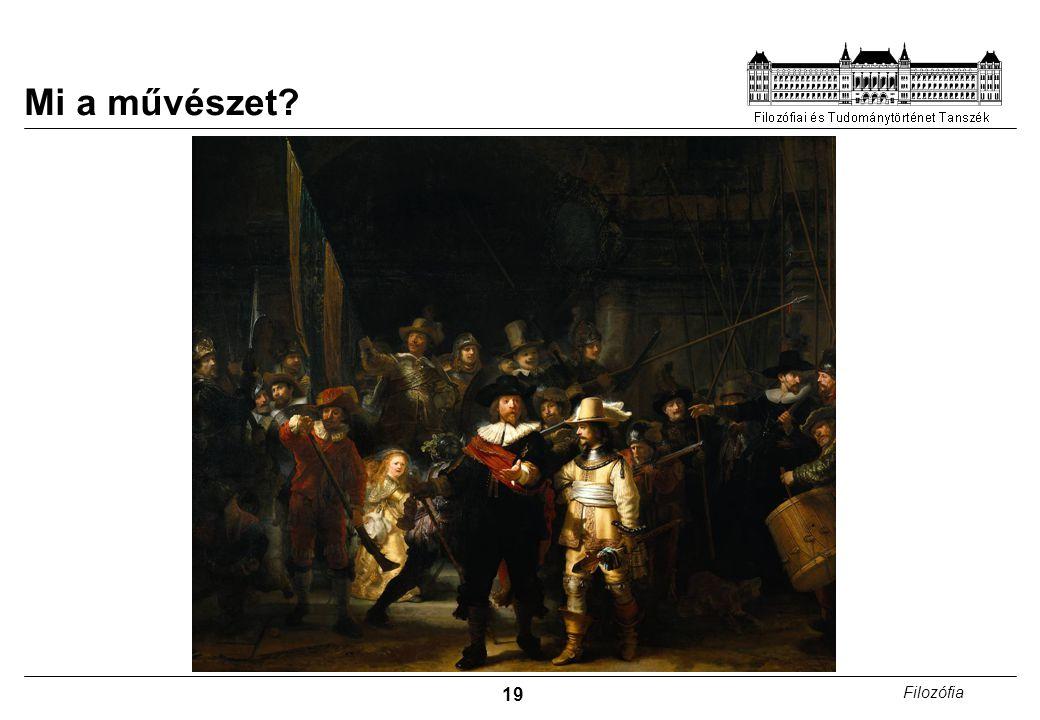Mi a művészet Rembrandt: Éjjeli őrjárat