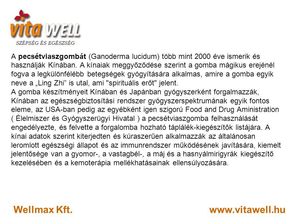 Wellmax Kft. www.vitawell.hu