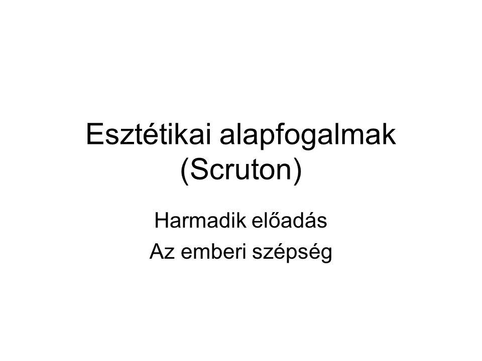 Esztétikai alapfogalmak (Scruton)
