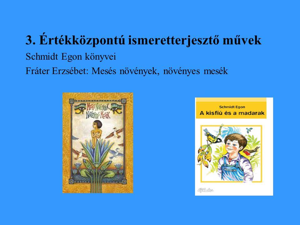 3. Értékközpontú ismeretterjesztő művek