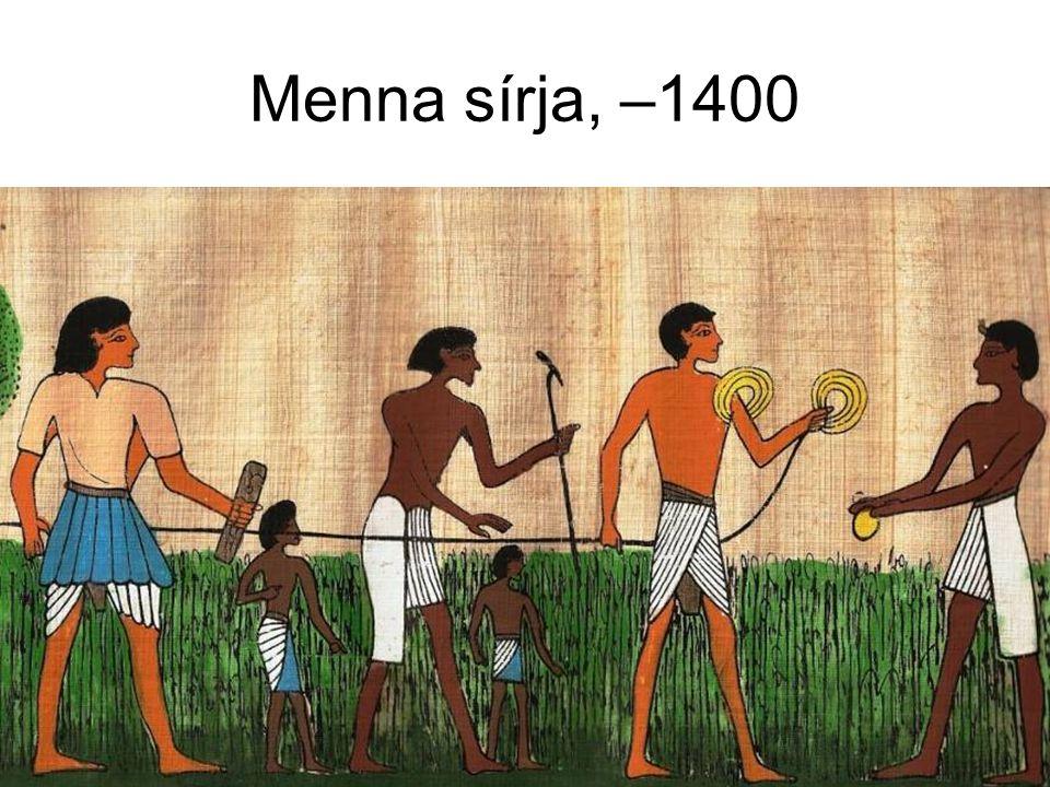 Menna sírja, –1400