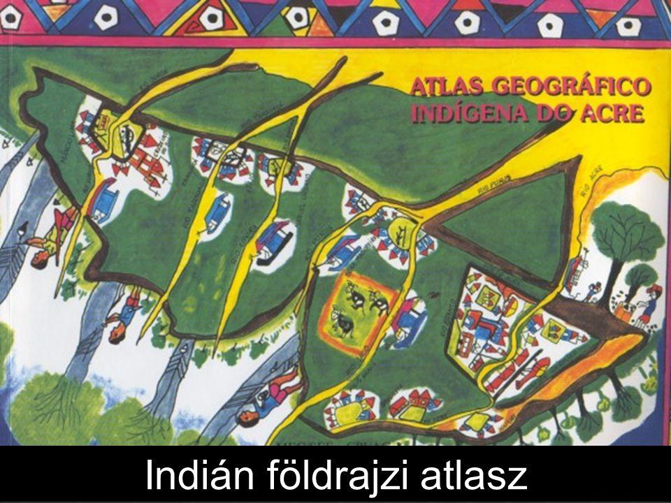Indián földrajzi atlasz