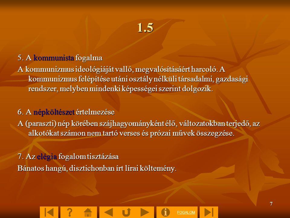 1.5 5. A kommunista fogalma.