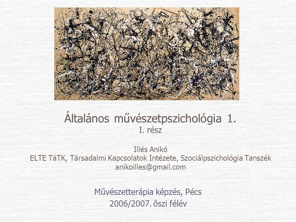 Művészetterápia képzés, Pécs 2006/2007. őszi félév