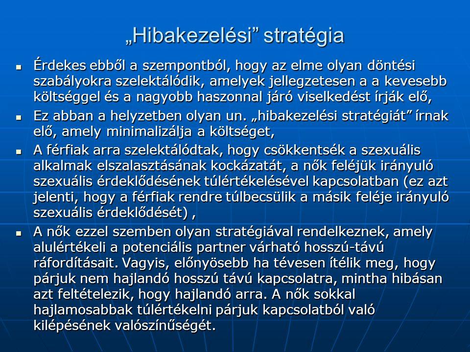 """""""Hibakezelési stratégia"""