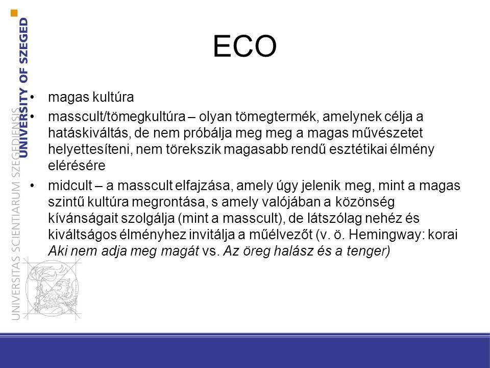 ECO magas kultúra.