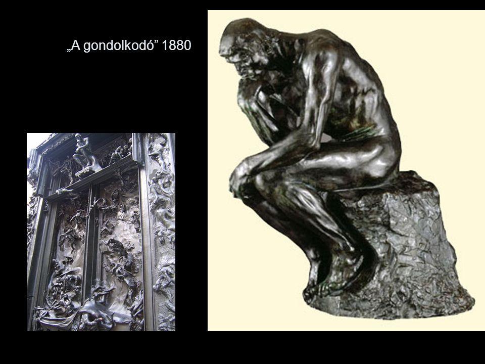 """""""A gondolkodó 1880"""