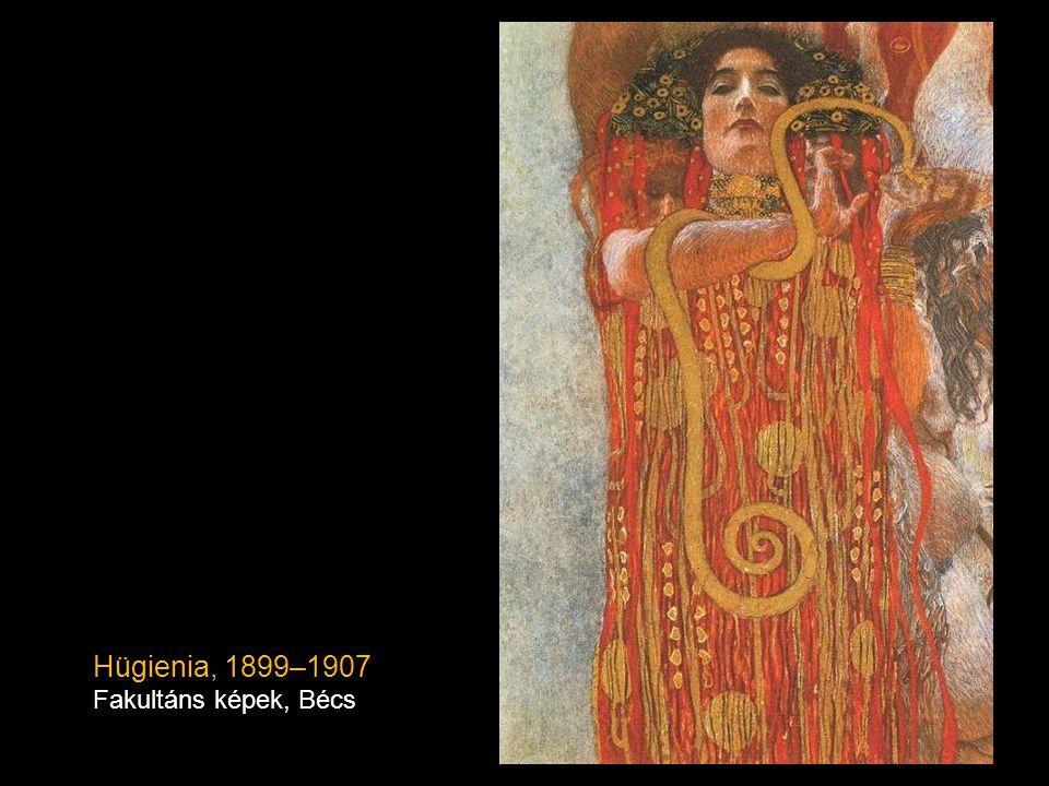 Hügienia, 1899–1907 Fakultáns képek, Bécs