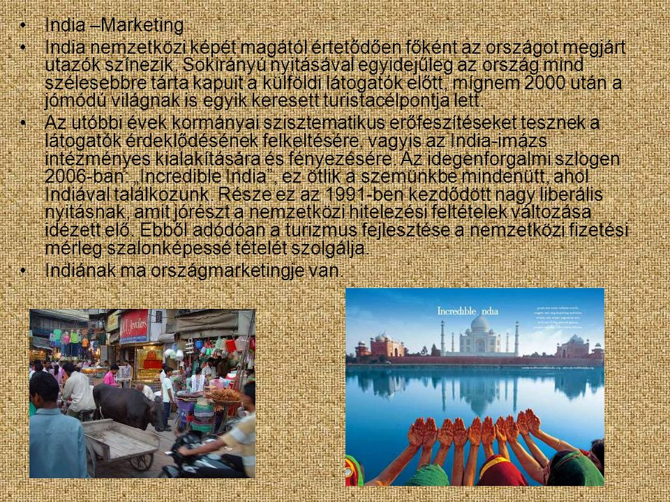 India –Marketing
