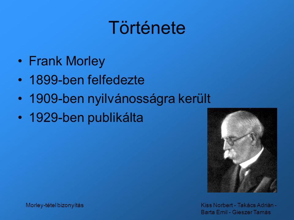 Morley-tétel bizonyítás
