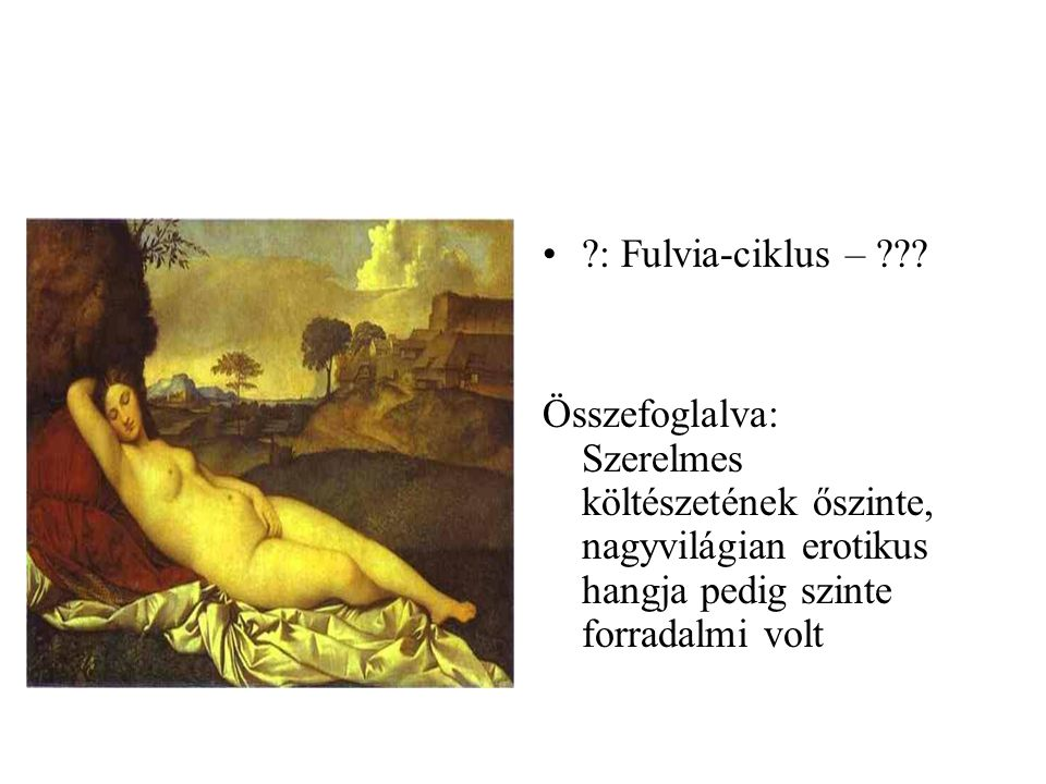 : Fulvia-ciklus – .