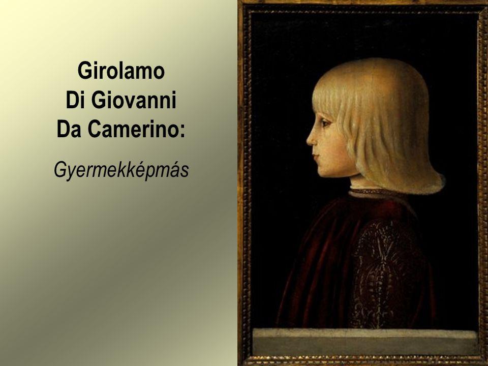 Girolamo Di Giovanni Da Camerino: