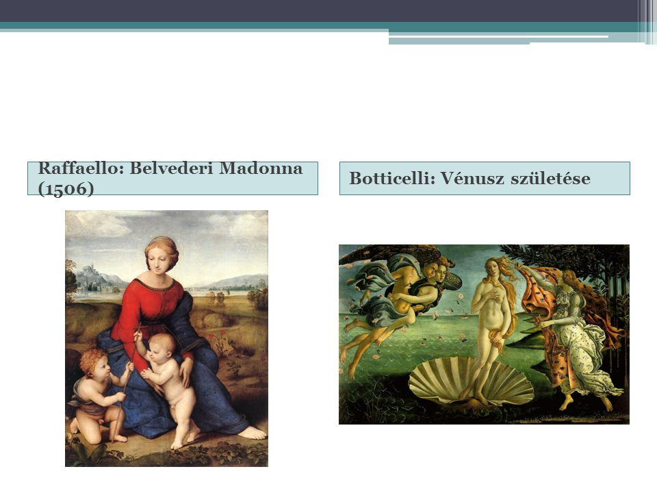 Raffaello: Belvederi Madonna (1506)
