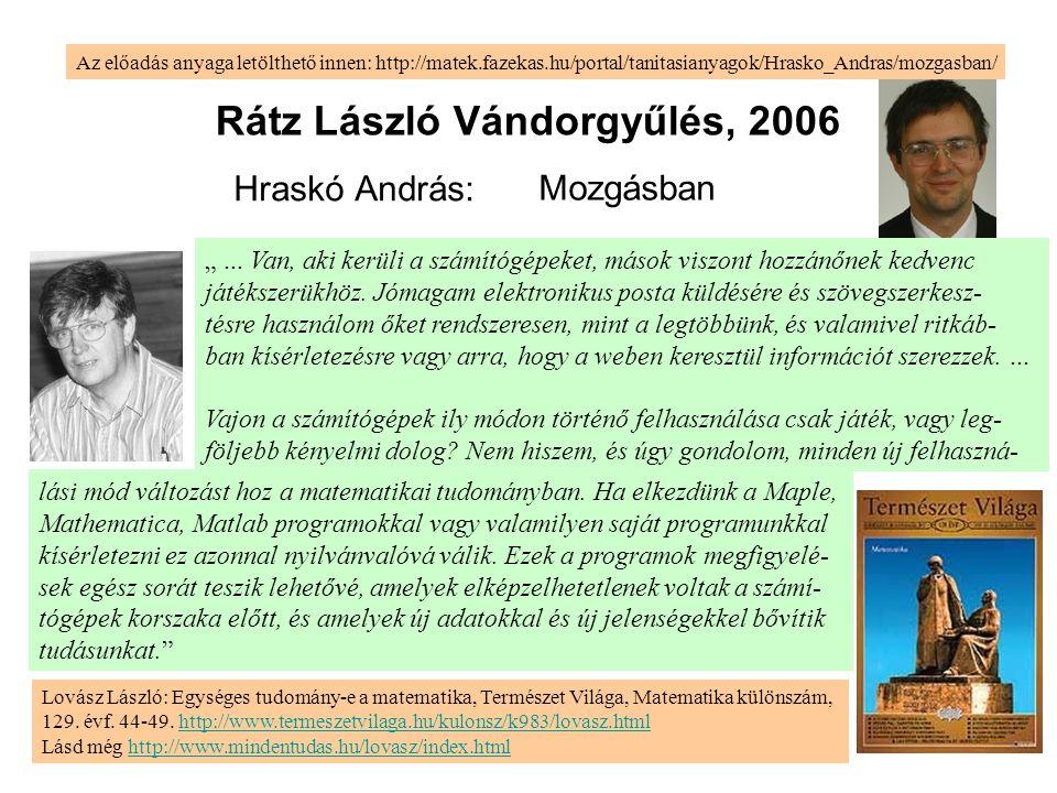 Rátz László Vándorgyűlés, 2006