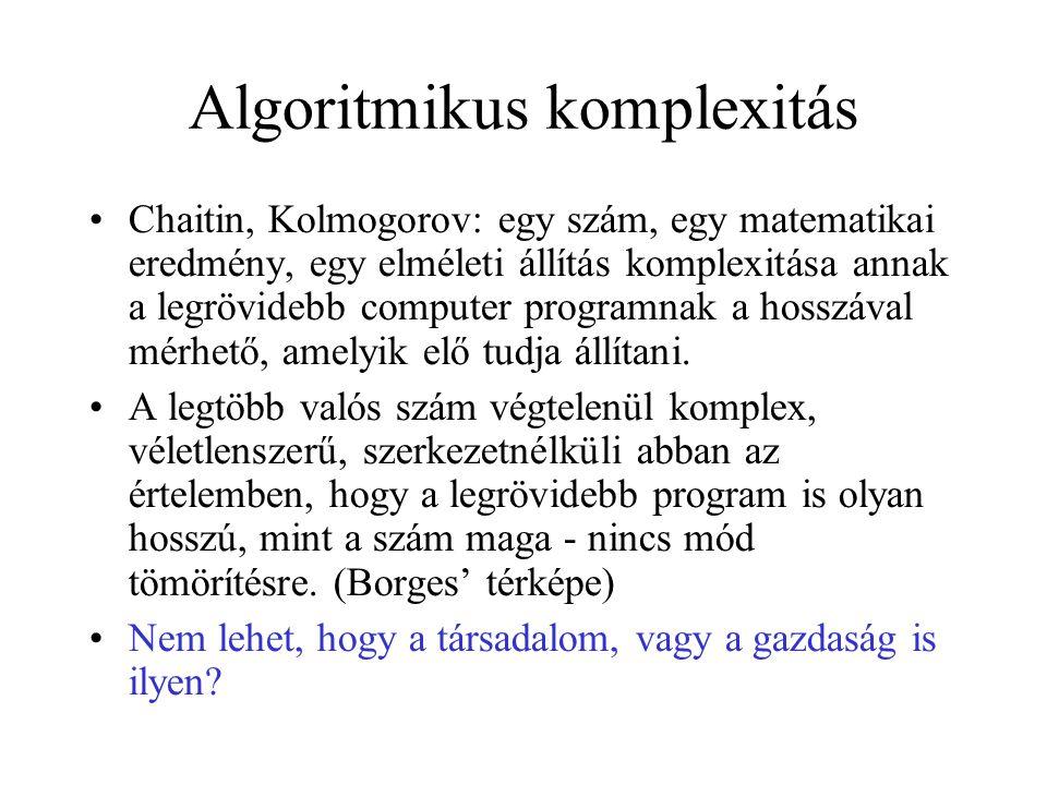 Algoritmikus komplexitás