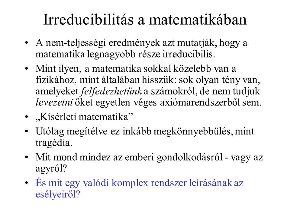 Irreducibilitás a matematikában