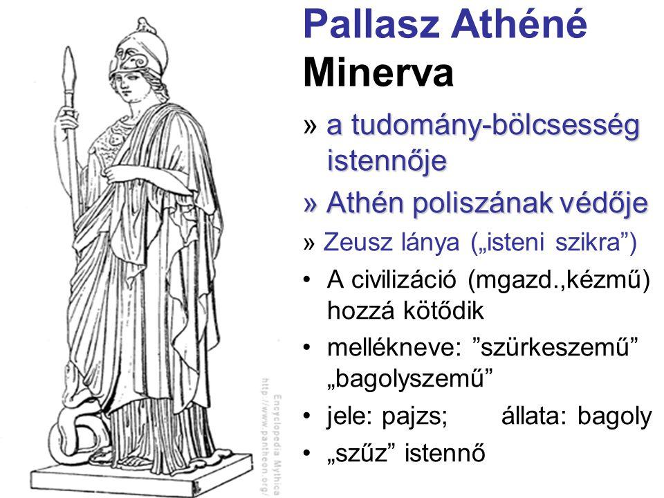 Pallasz Athéné Minerva