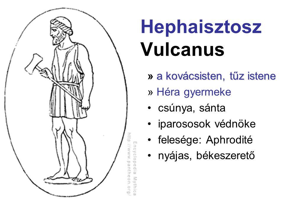 Hephaisztosz Vulcanus