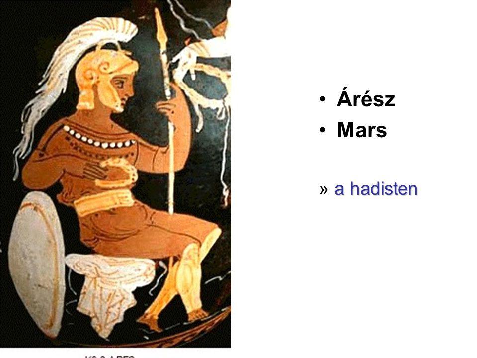 Árész Mars » a hadisten