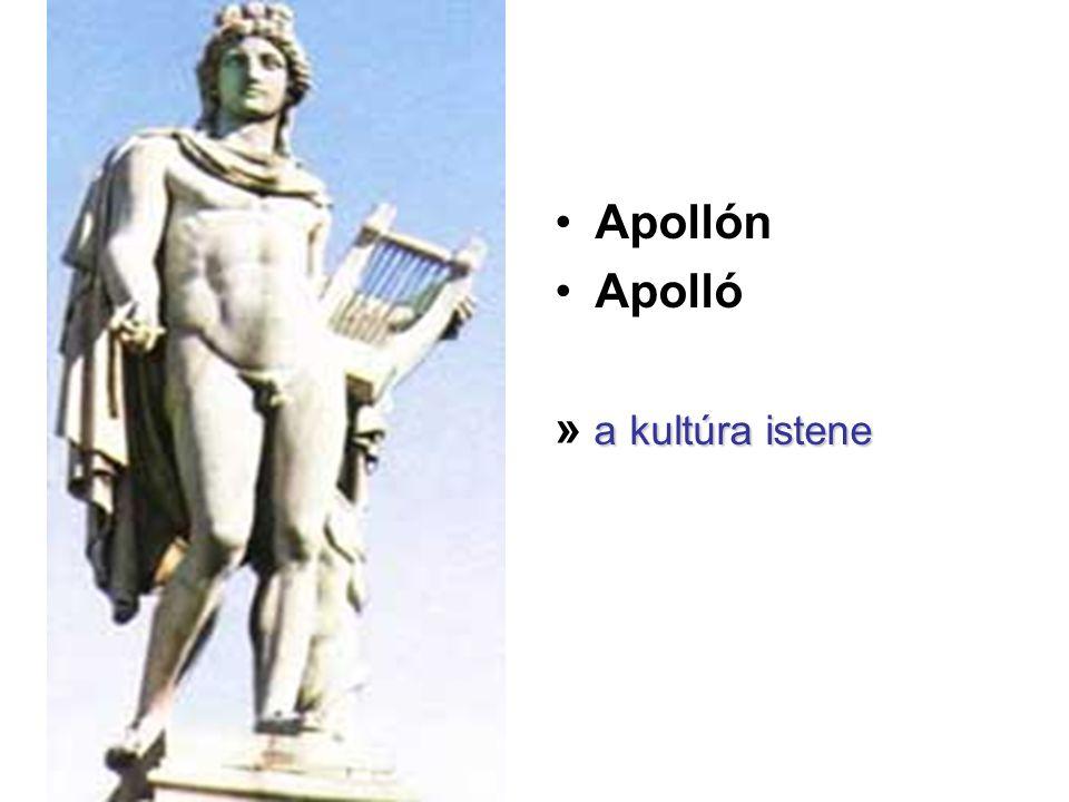 Apollón Apolló » a kultúra istene