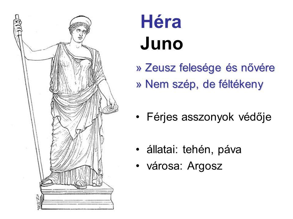 Héra Juno » Zeusz felesége és nővére » Nem szép, de féltékeny