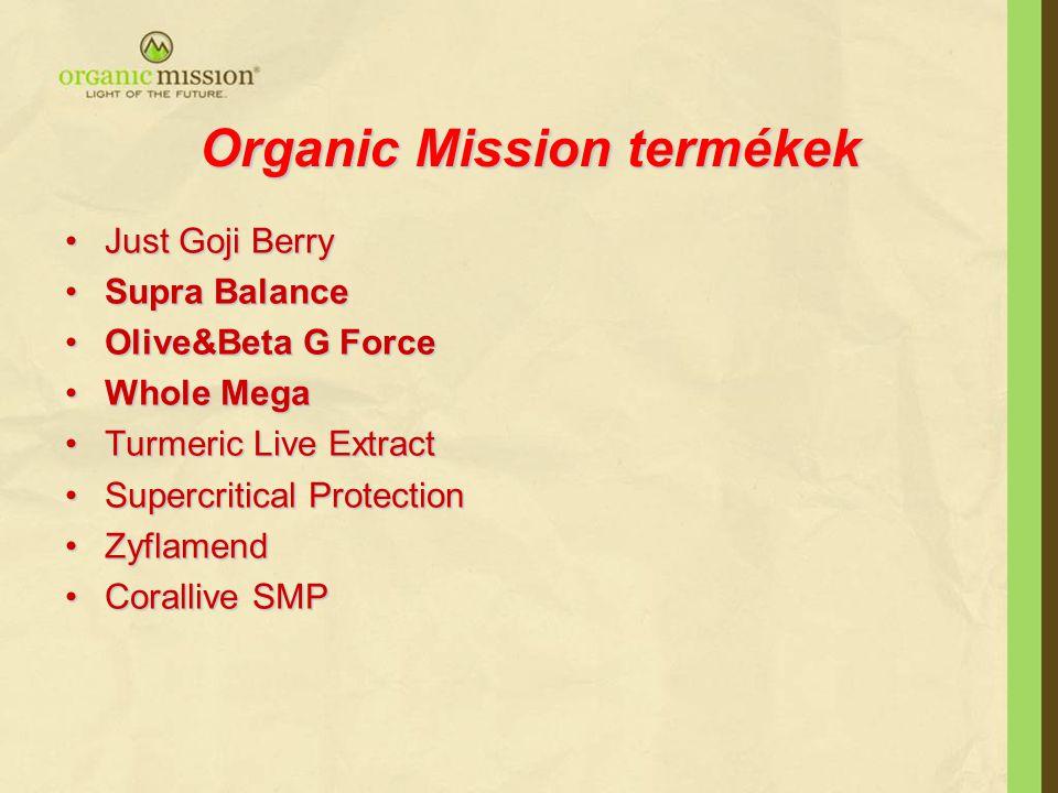 Organic Mission termékek
