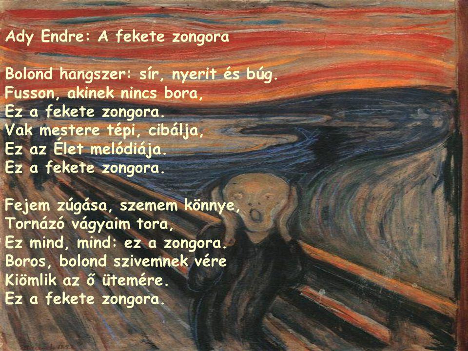 Ady Endre: A fekete zongora