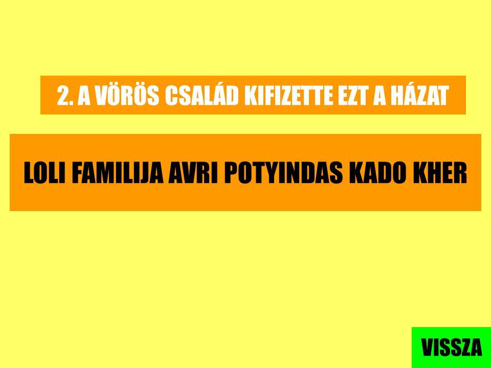 LOLI FAMILIJA AVRI POTYINDAS KADO KHER