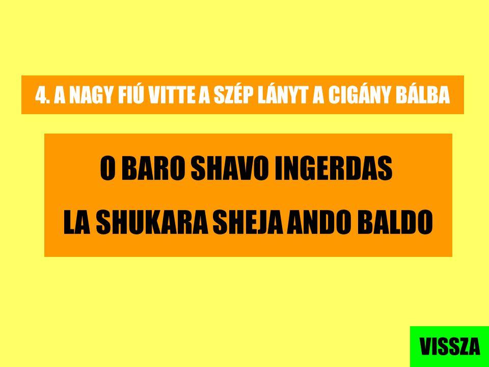 LA SHUKARA SHEJA ANDO BALDO