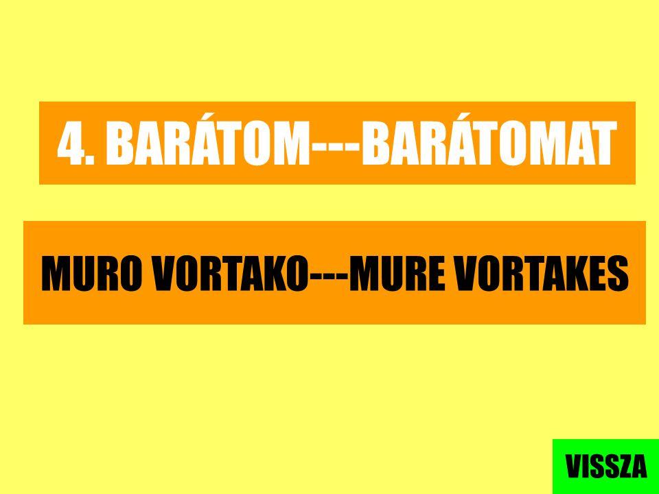 MURO VORTAKO---MURE VORTAKES