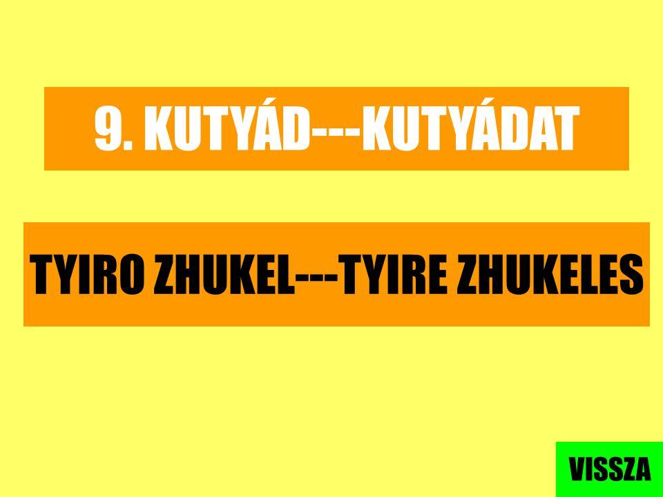 TYIRO ZHUKEL---TYIRE ZHUKELES