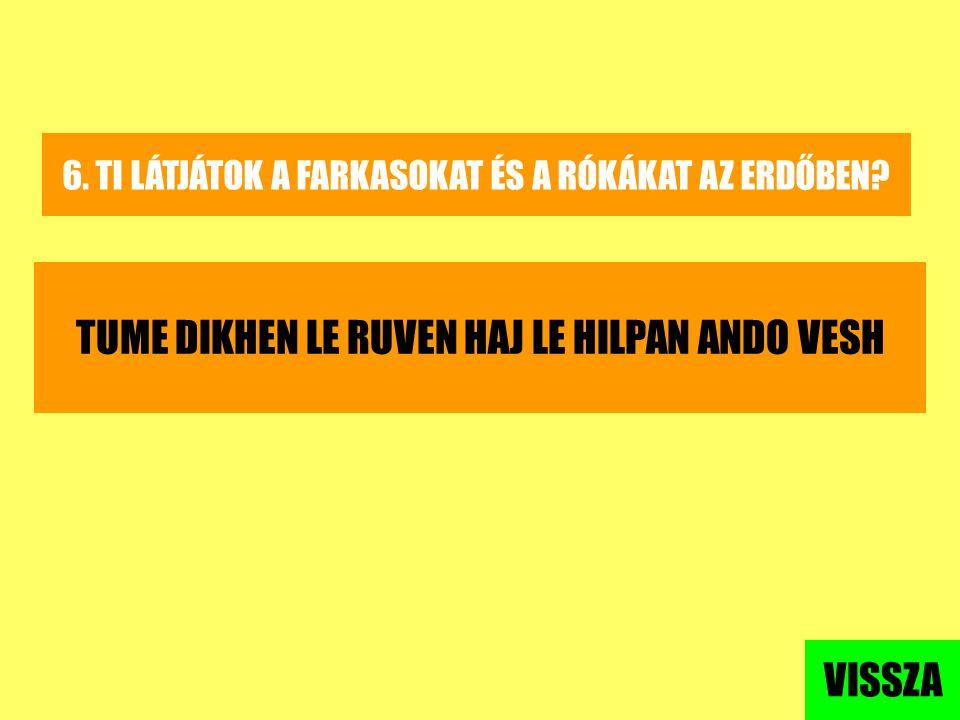 TUME DIKHEN LE RUVEN HAJ LE HILPAN ANDO VESH