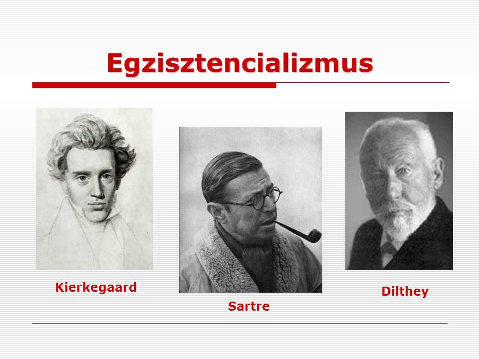 Egzisztencializmus Kierkegaard Dilthey Sartre