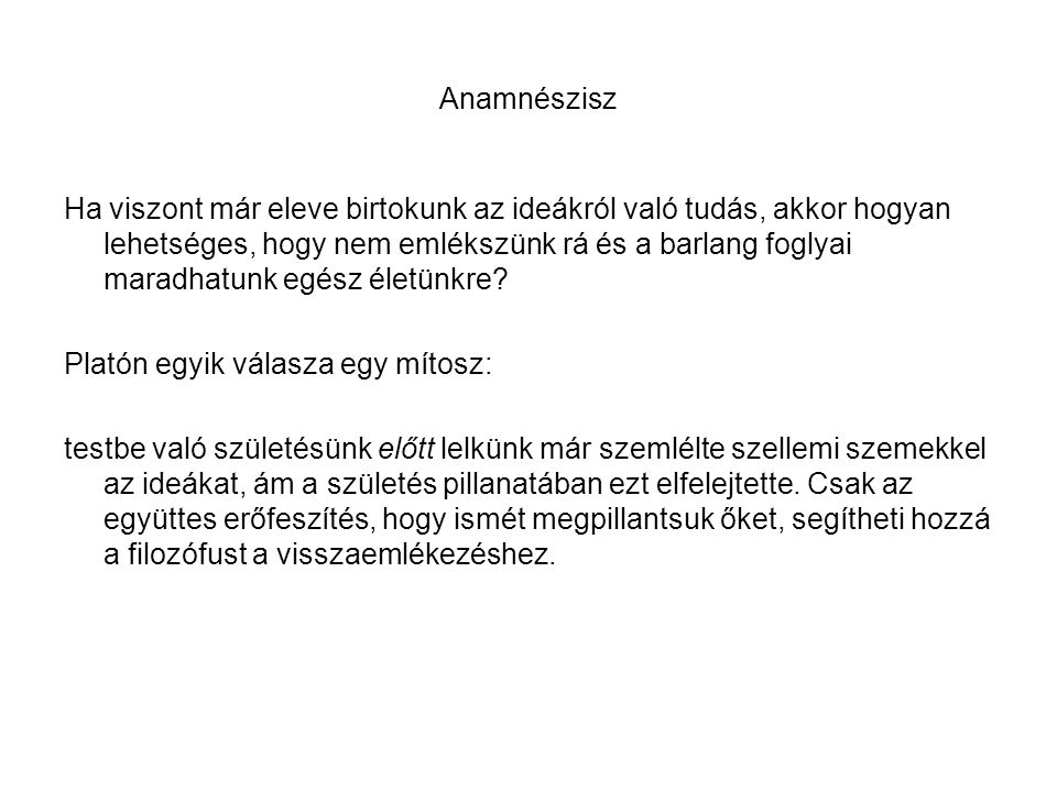 Anamnészisz