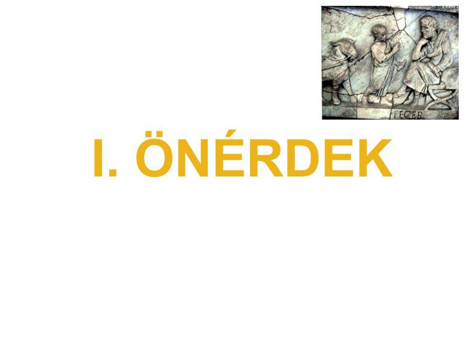I. ÖNÉRDEK