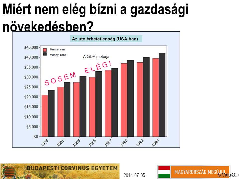 Miért nem elég bízni a gazdasági növekedésben