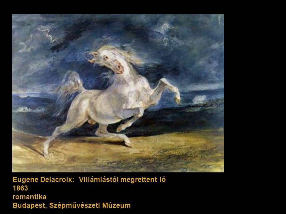 Eugene Delacroix: Villámlástól megrettent ló