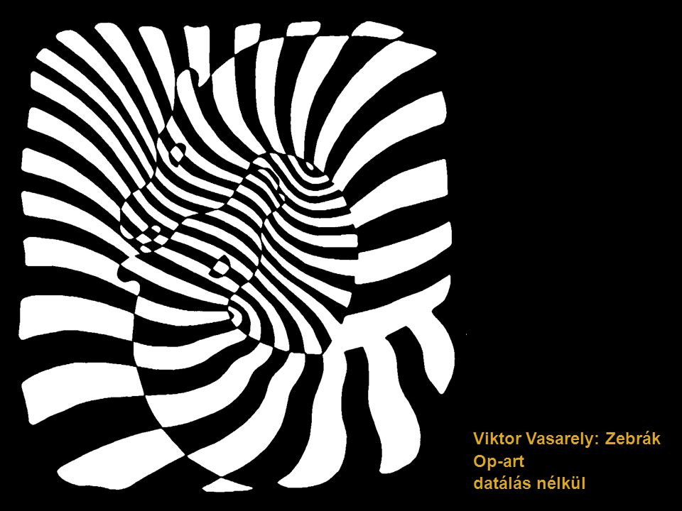 Viktor Vasarely: Zebrák