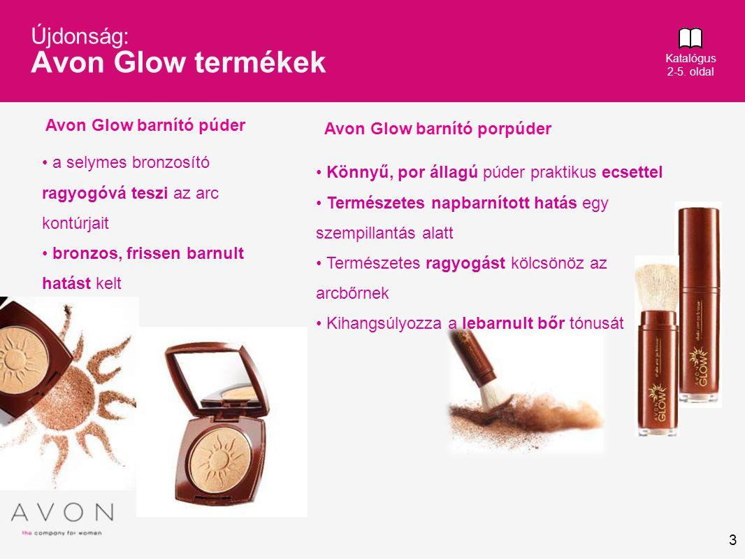 Újdonság: Avon Glow termékek