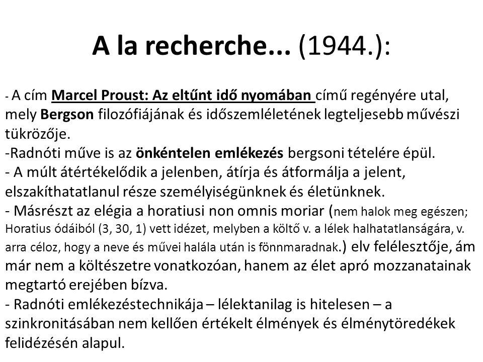 A la recherche... (1944.):