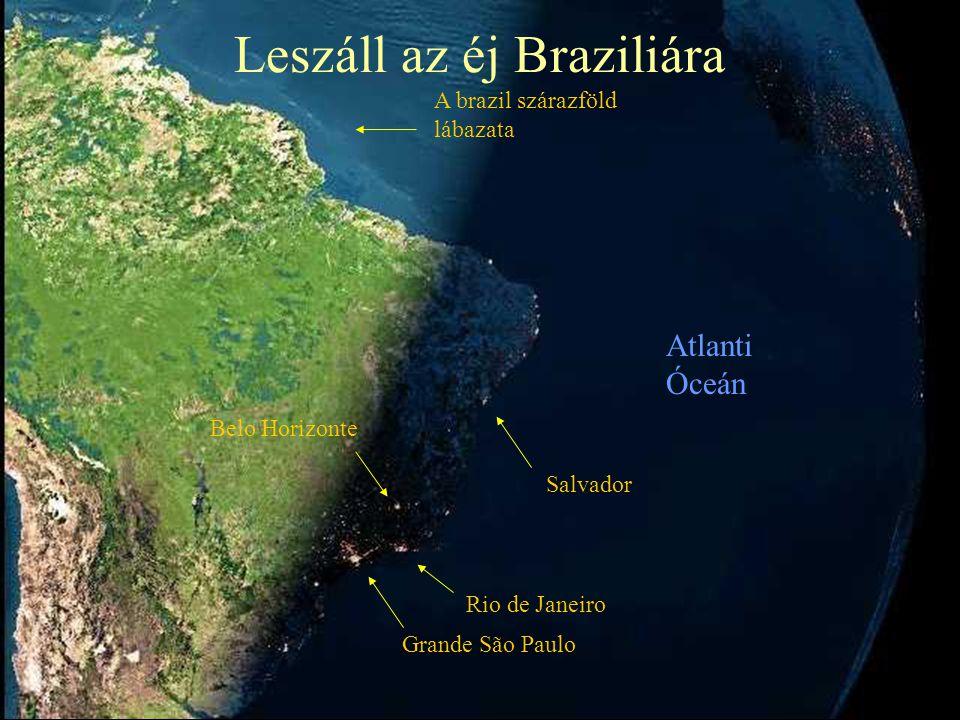 Leszáll az éj Braziliára