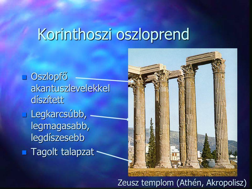 Korinthoszi oszloprend