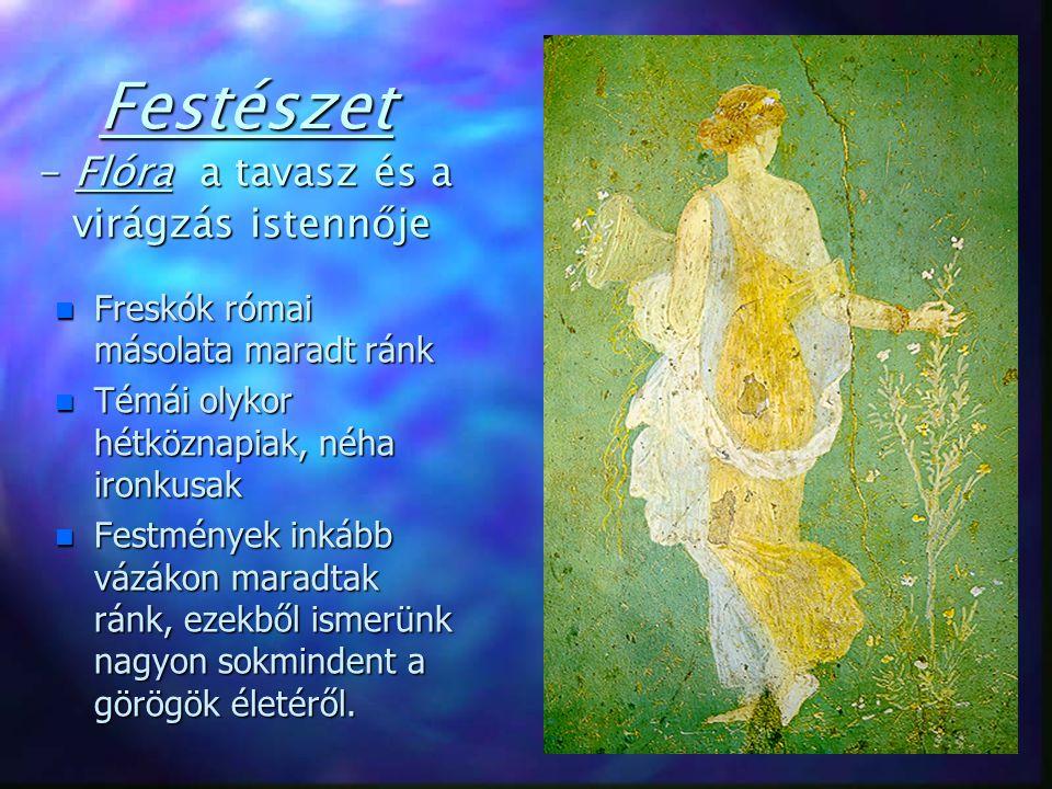 Festészet - Flóra a tavasz és a virágzás istennője