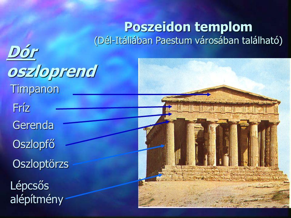 Poszeidon templom (Dél-Itáliában Paestum városában található)