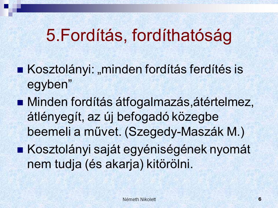 5.Fordítás, fordíthatóság