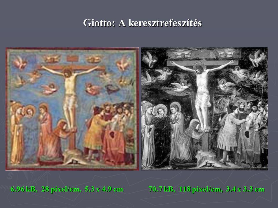 Giotto: A keresztrefeszítés