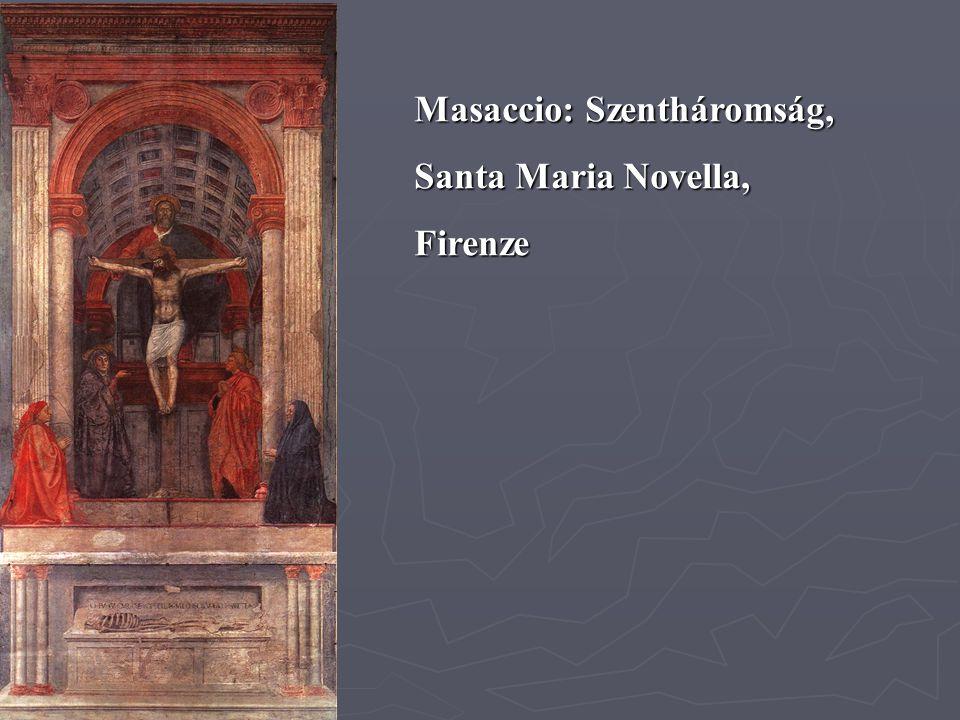 Masaccio: Szentháromság,