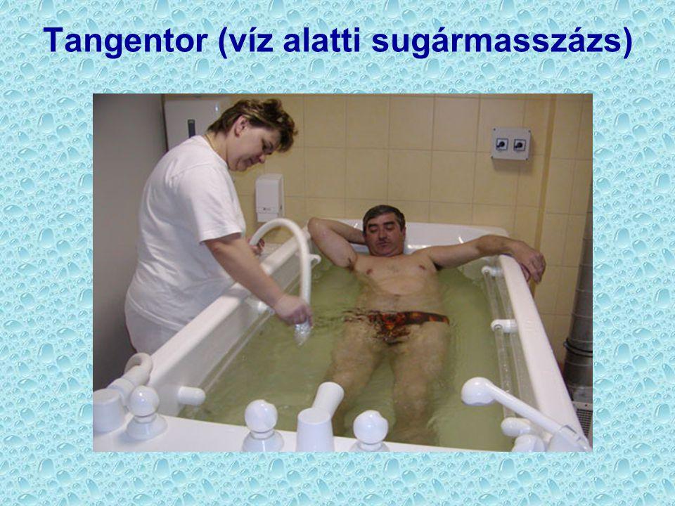 Tangentor (víz alatti sugármasszázs)