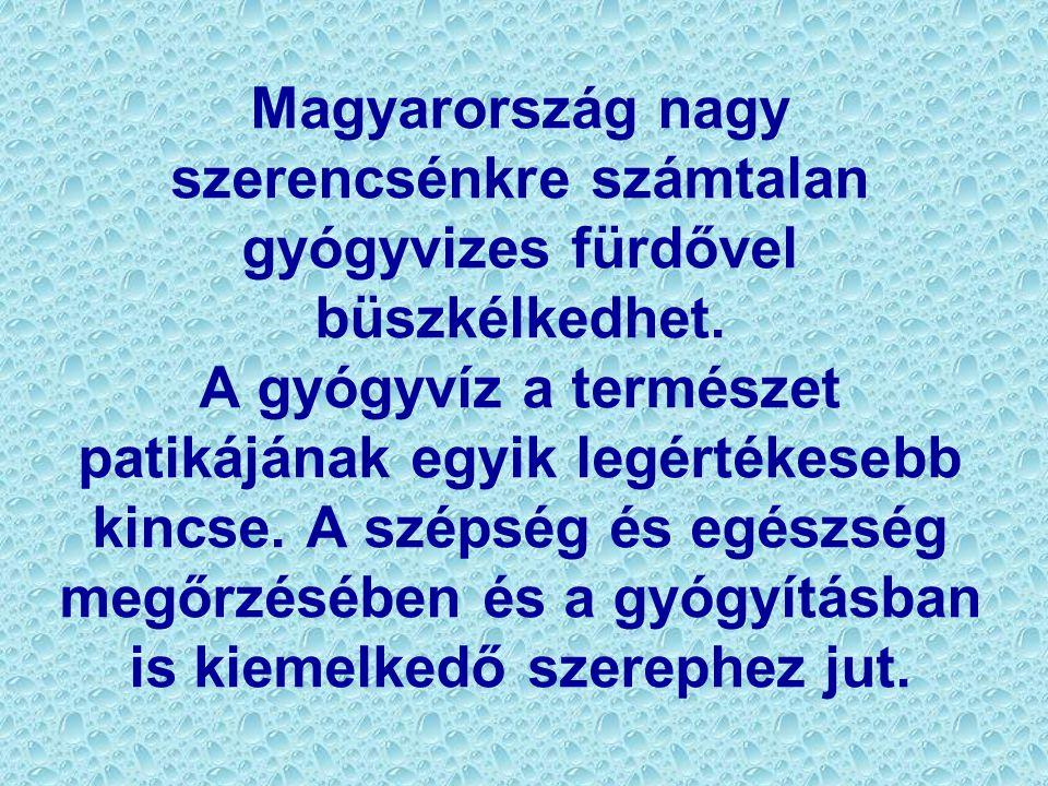 Magyarország nagy szerencsénkre számtalan gyógyvizes fürdővel büszkélkedhet.