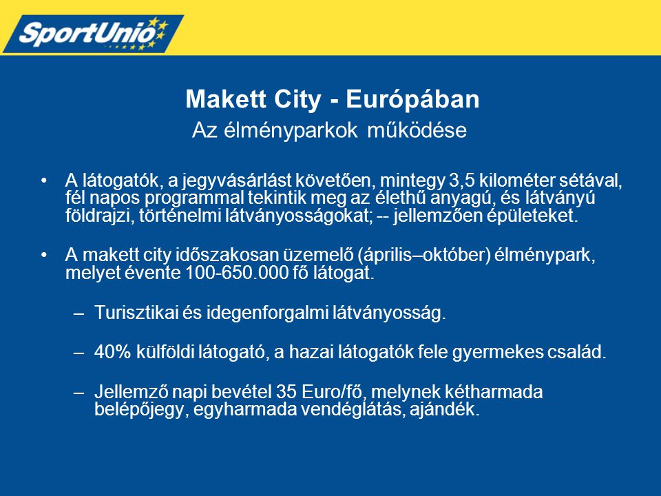 Makett City - Európában
